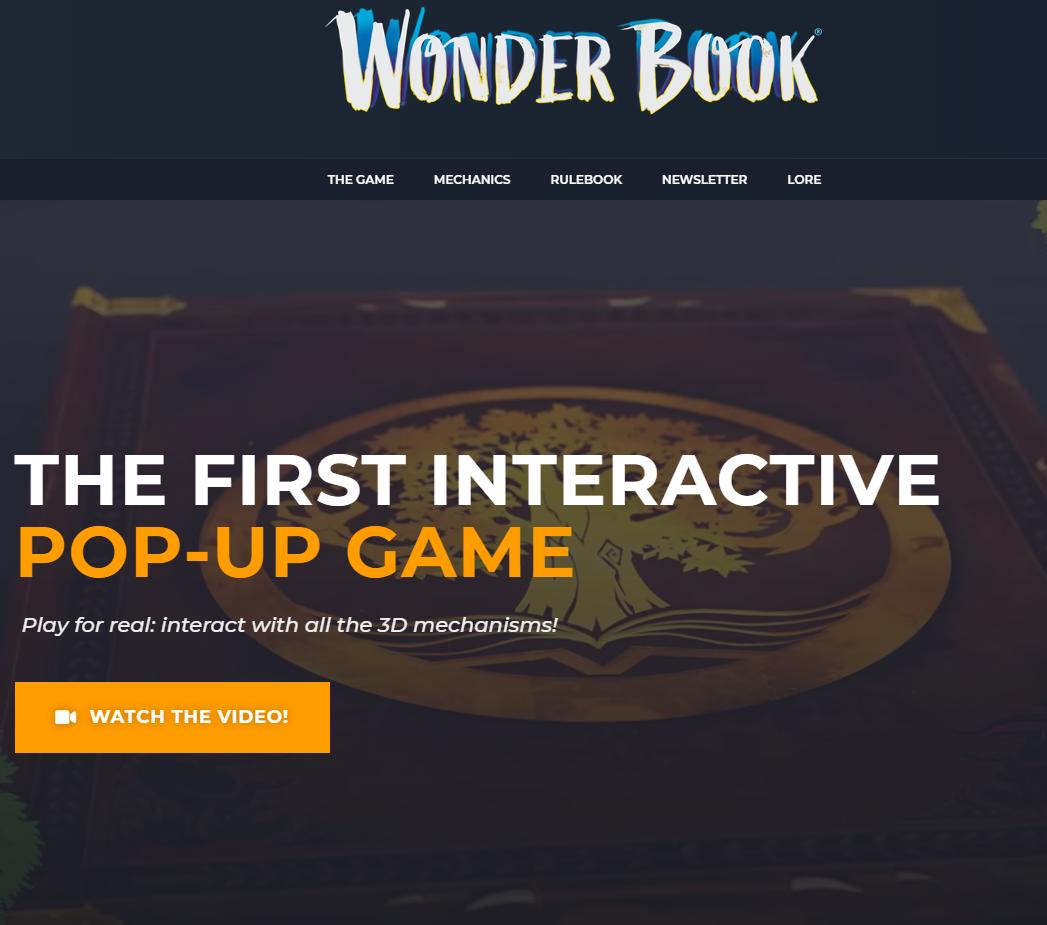 Wonder Book Boardgame